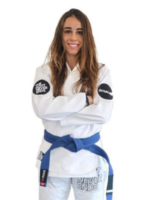 The Fight Never Ends - Women's Jiu Jitsu Gi
